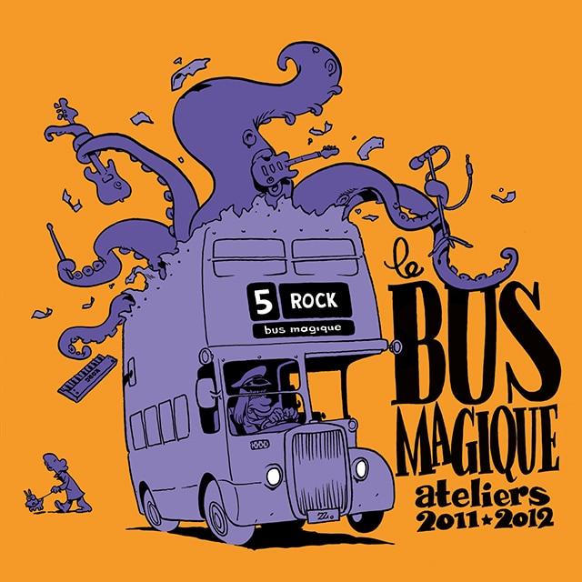 Le CD 2012 du Bus Magique