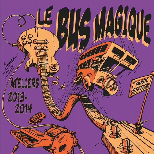 Le CD 2014 du Bus Magique