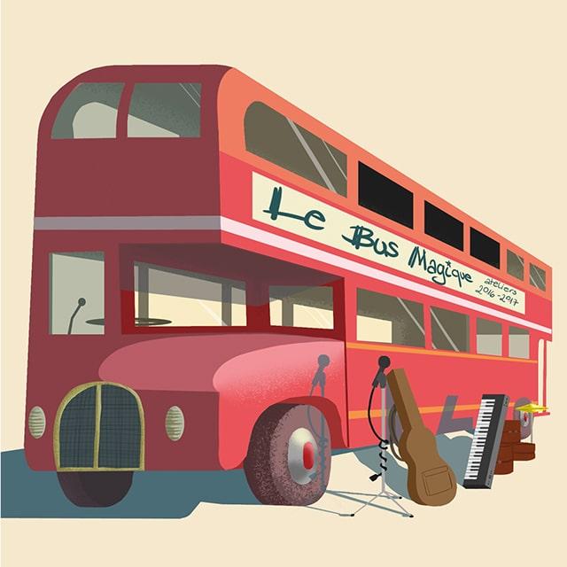 Le CD 2017 du Bus Magique