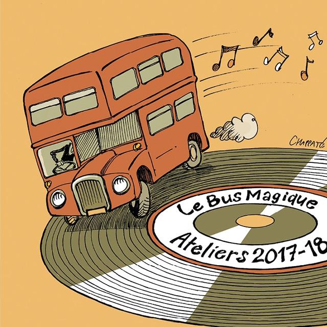 Le CD 2018 du Bus Magique