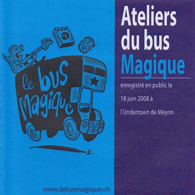 Le CD 2008 du Bus Magique